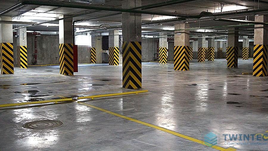Полы на паркингах