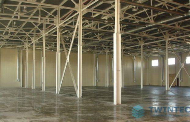 Полы в складских помещениях